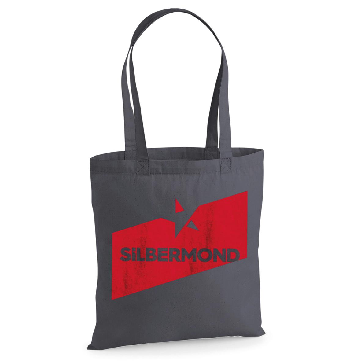 Silbermond Stern Bag grau