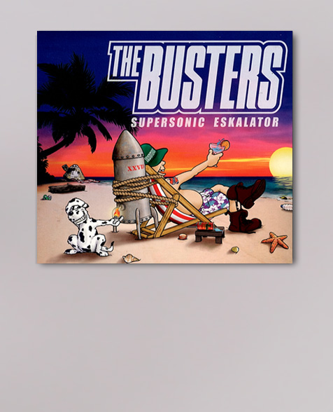 The Busters Supersonic Eskalator CD