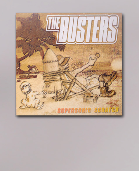 The Busters Supersonic Scratch LP