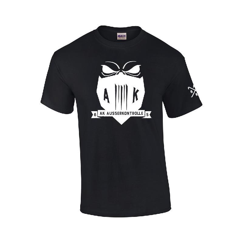 AK Ausserkontrolle 030 T-Shirt T-Shirt, Schwarz