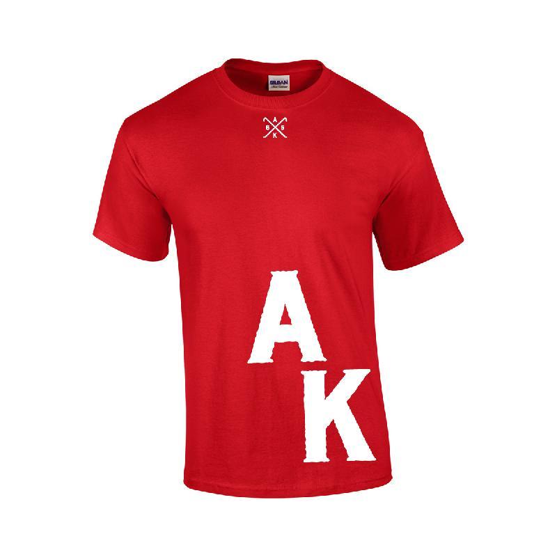 AK Ausserkontrolle AK T-Shirt T-Shirt, Rot