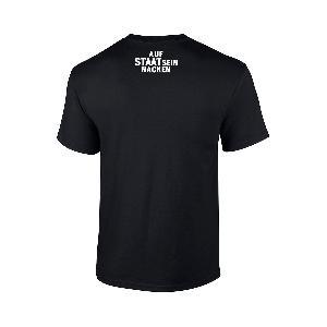 AK Ausserkontrolle ASSN T-Shirt T-Shirt Schwarz