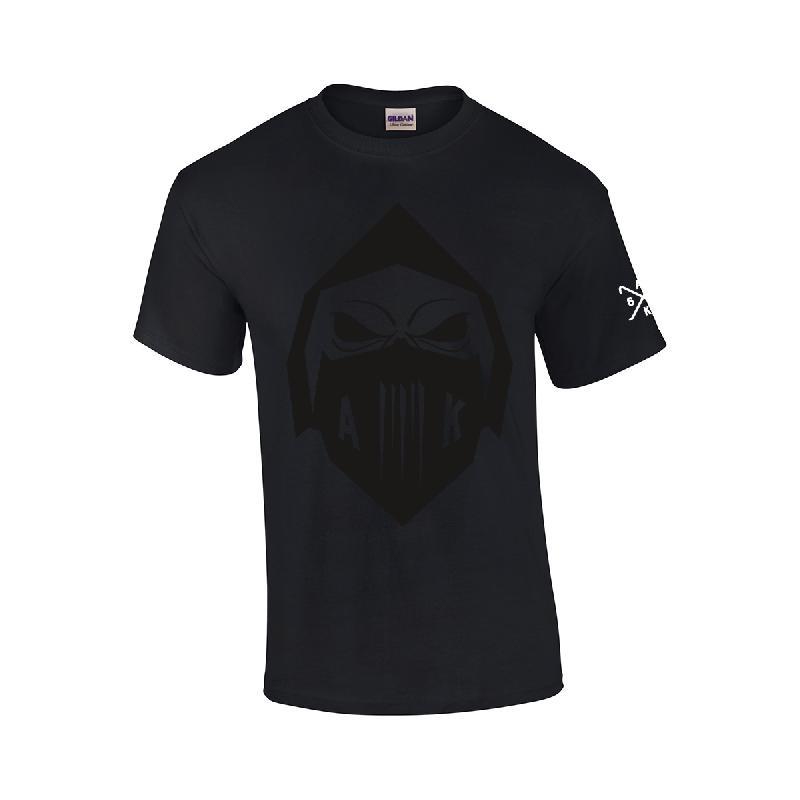 AK Ausserkontrolle Black Mask T-Shirt T-Shirt, Schwarz