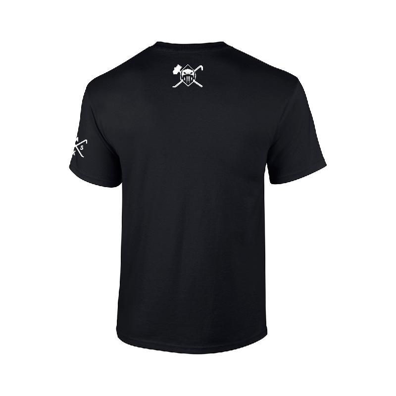 AK Ausserkontrolle Black Mask T-Shirt T-Shirt Schwarz