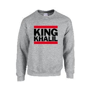 Team Kuku King Khalil Run DMC Sweater Sweater Grau