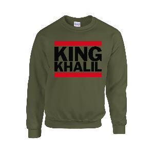 Team Kuku King Khalil Run DMC Sweater Sweater Olive