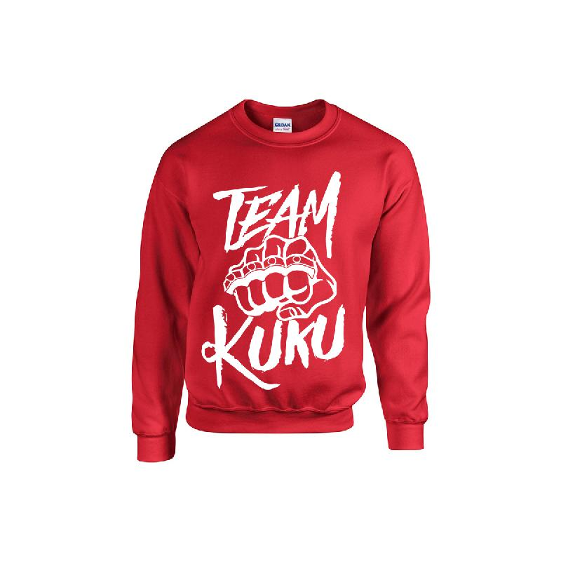 Team Kuku Kuku Sweater Rot Sweater, Rot