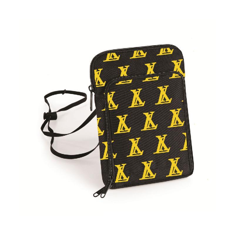 LX LX Shoulderbag Tasche, Schwarz