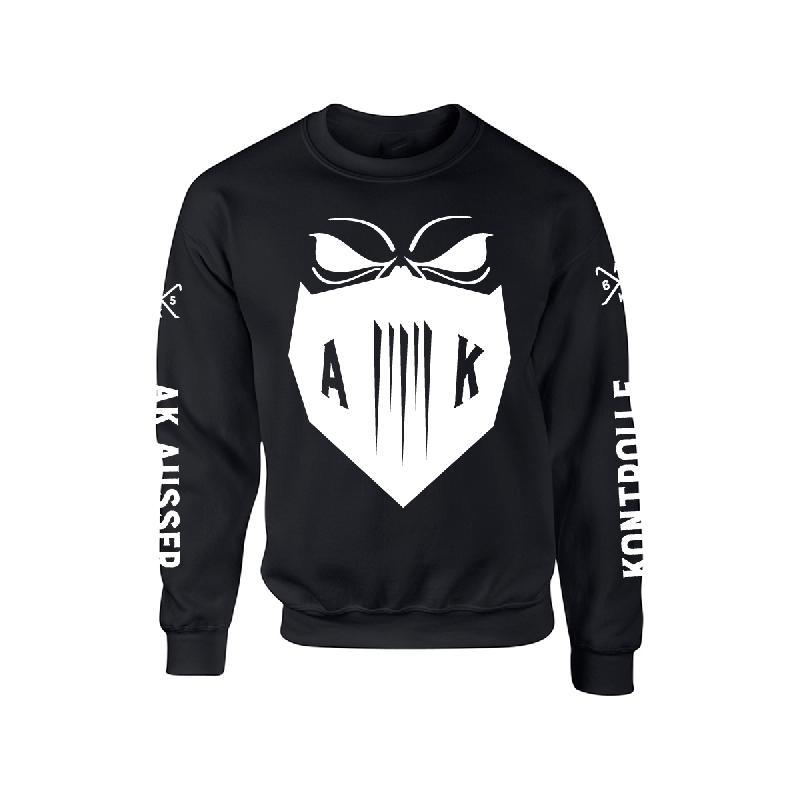 AK Ausserkontrolle Mask Sweater Sweater, Schwarz