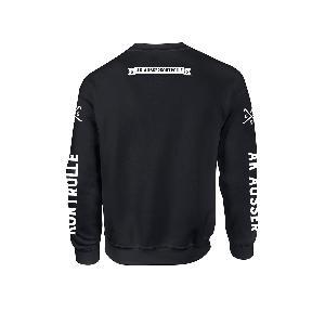 AK Ausserkontrolle Mask Sweater Sweater Schwarz