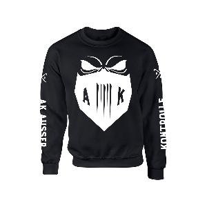 AK Ausserkontrolle Mask Sweater Sweater Black