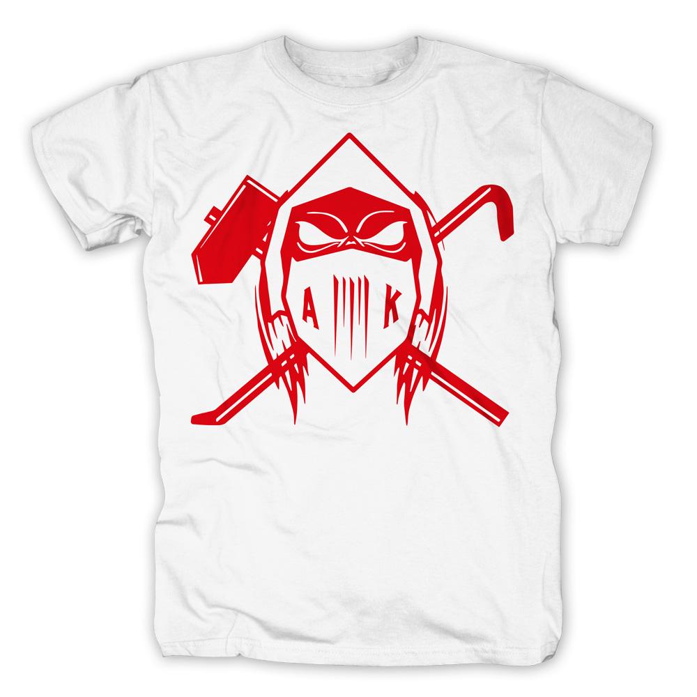 AK Ausserkontrolle T-Shirt T-Shirt, weiß
