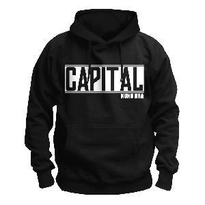 Capital Bra Logo Kapuzenpullover schwarz