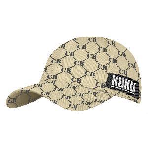 Capital Bra Pattern Cap One Size Fits All beige - schwarz