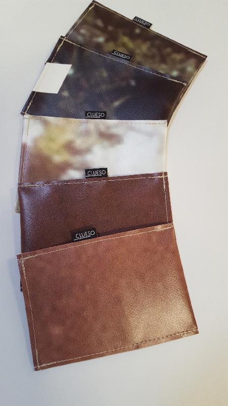 Clueso Wallet Planenbeutel individual