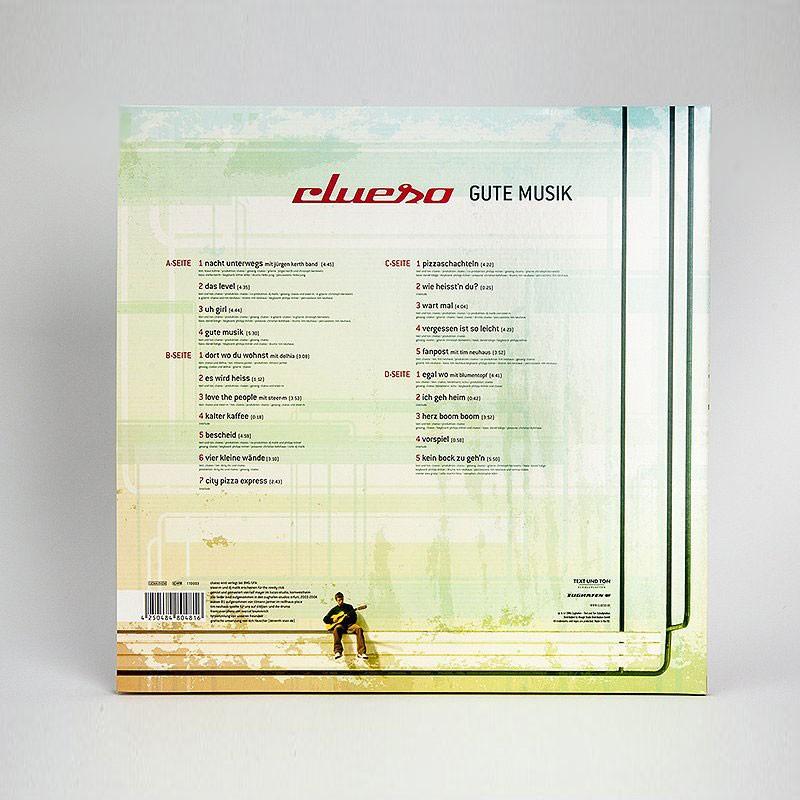 Clueso Gute Musik Doppel LP+CD