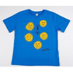 Clueso Lichter Kids Shirt blau