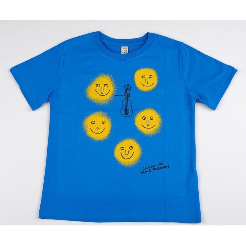 Clueso Lichter Kids Shirt, blau