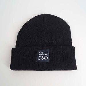 Clueso Logo Beanie schwarz