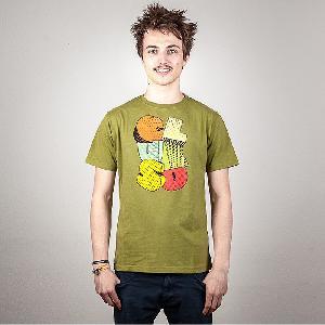 Clueso Logo T-Shirt olive
