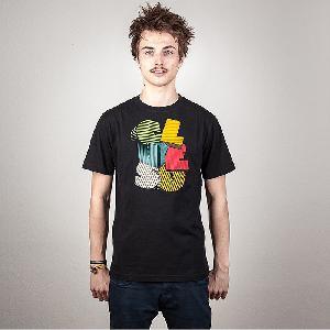 Clueso Logo T-Shirt schwarz