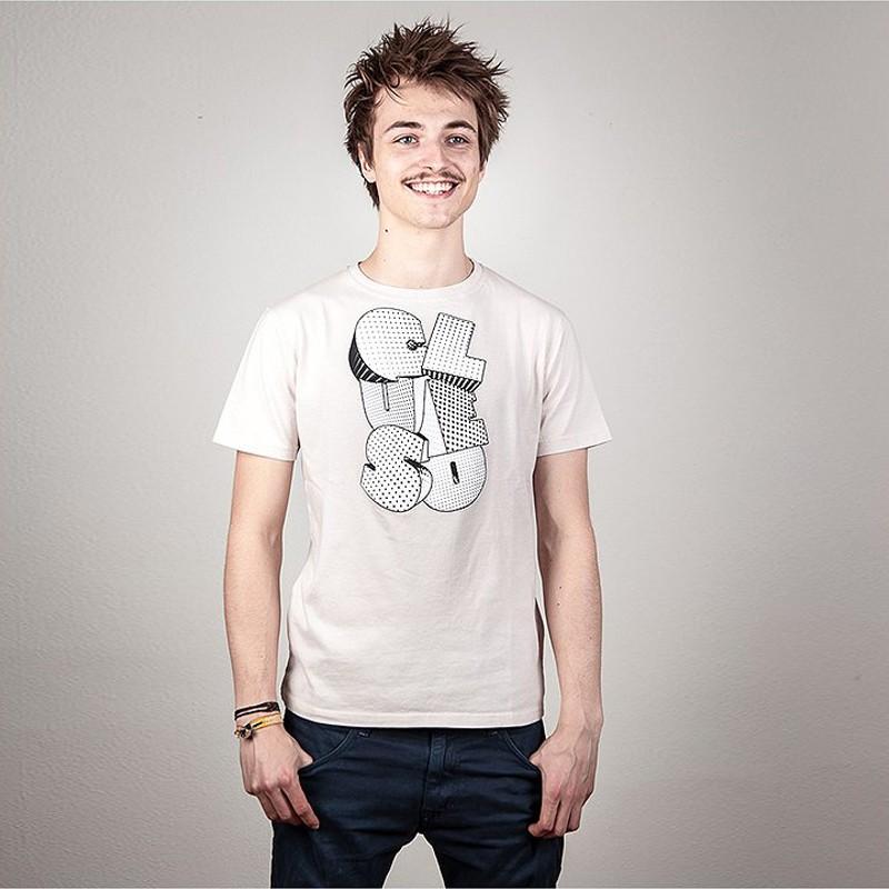 Clueso Logo T-Shirt, weiss