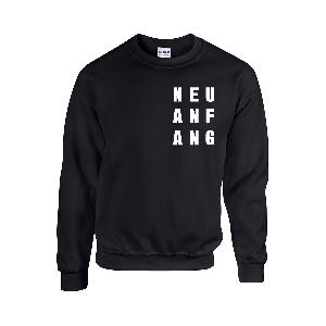 Clueso Neuanfang Crew Sweater schwarz