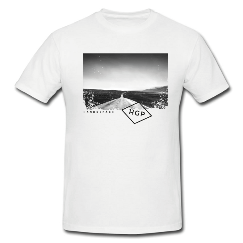 Clueso Picture HGP T-Shirt, White