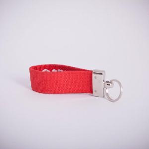 Clueso Schlüsselanhänger Schlüsselanhänger rot