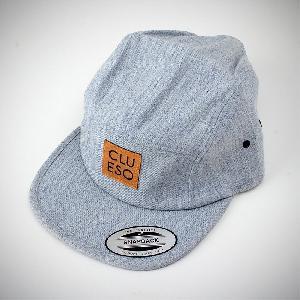 Clueso Snapback mit Logopatch Snapback heather indigo