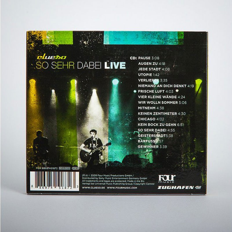 Clueso So sehr dabei LIVE CD