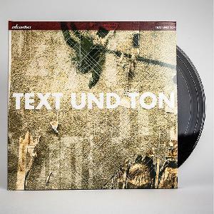 Clueso Text und Ton Doppel LP+CD