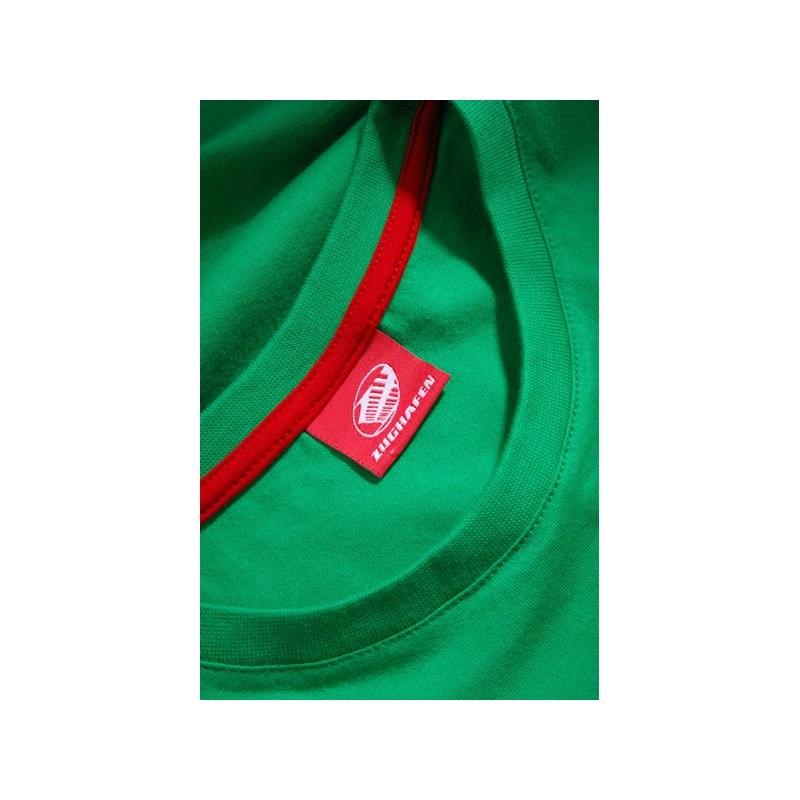 Clueso Typo T-Shirt grün