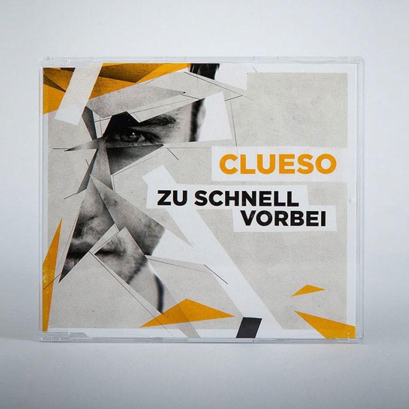 Clueso Zu schnell vorbei Single CD