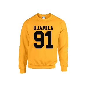 Djamila 91 Sweater Sweater Yellow/Black