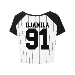Djamila Baseball Top Girlie