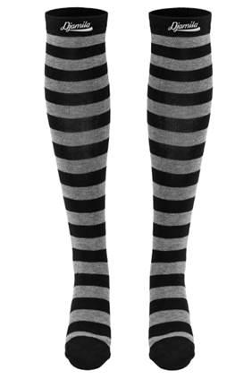 Djamila Overknees Socken