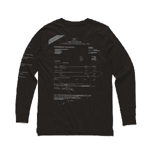 Drangsal Ltd. Hotel Longsleeve - SOLD OUT Longsleeve Silver/Black
