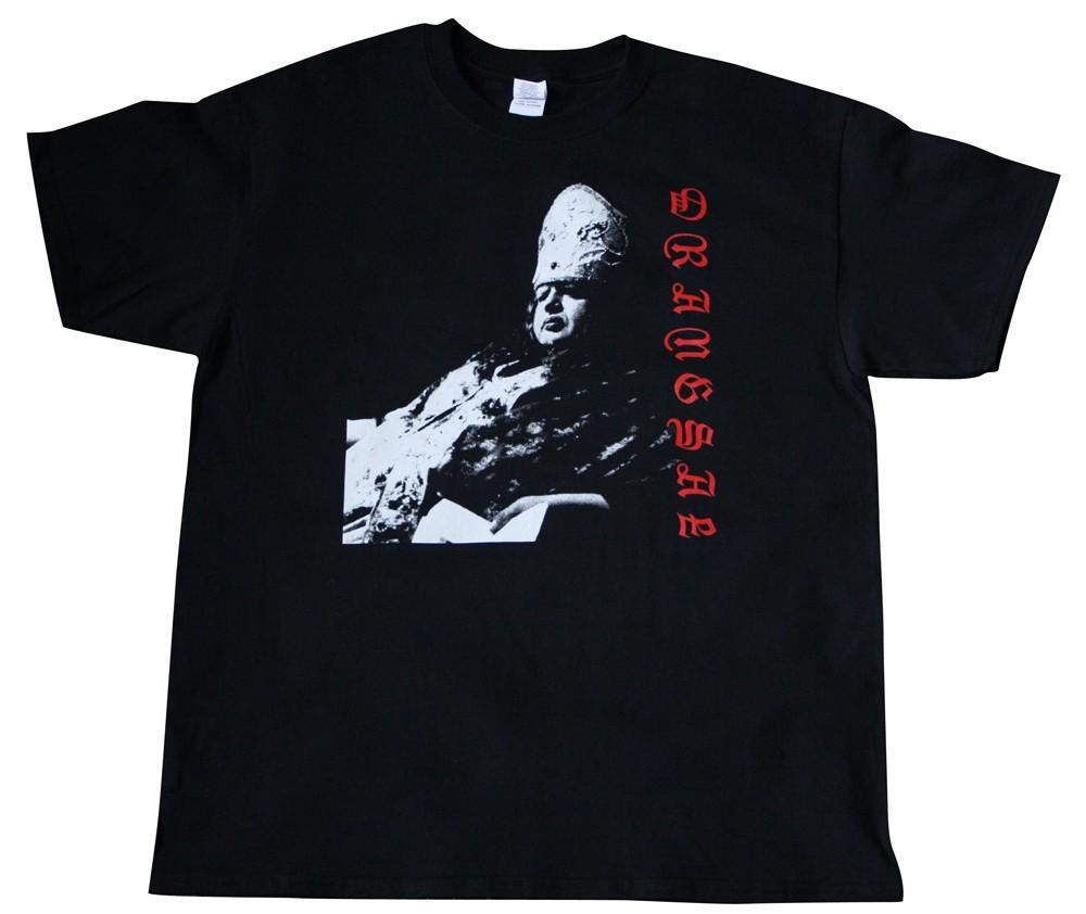 Drangsal Phettberg T-Shirt, schwarz
