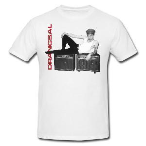 Drangsal Picture T-Shirt Weiss