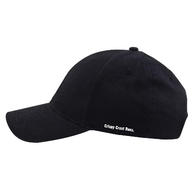 Drunken Masters CRISPY CRUST DAD HAT - PIZZA Cap One Size Fits All black