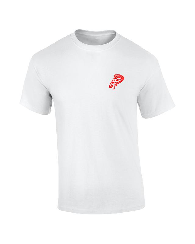 Drunken Masters CRISPY CRUST DELIVERY T-Shirt, white