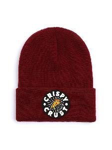 Crispy Crust Records Crispy Crust Records Beanie Beanie Bordeux