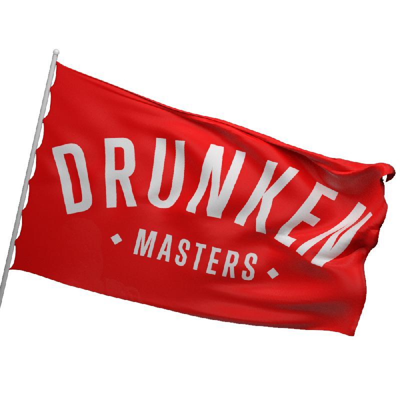 Drunken Masters DRUNKEN MASTERS FLAGGE / MIXTAPE