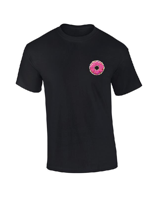 Drunken Masters DRUNKIN DONUT T-Shirt, black