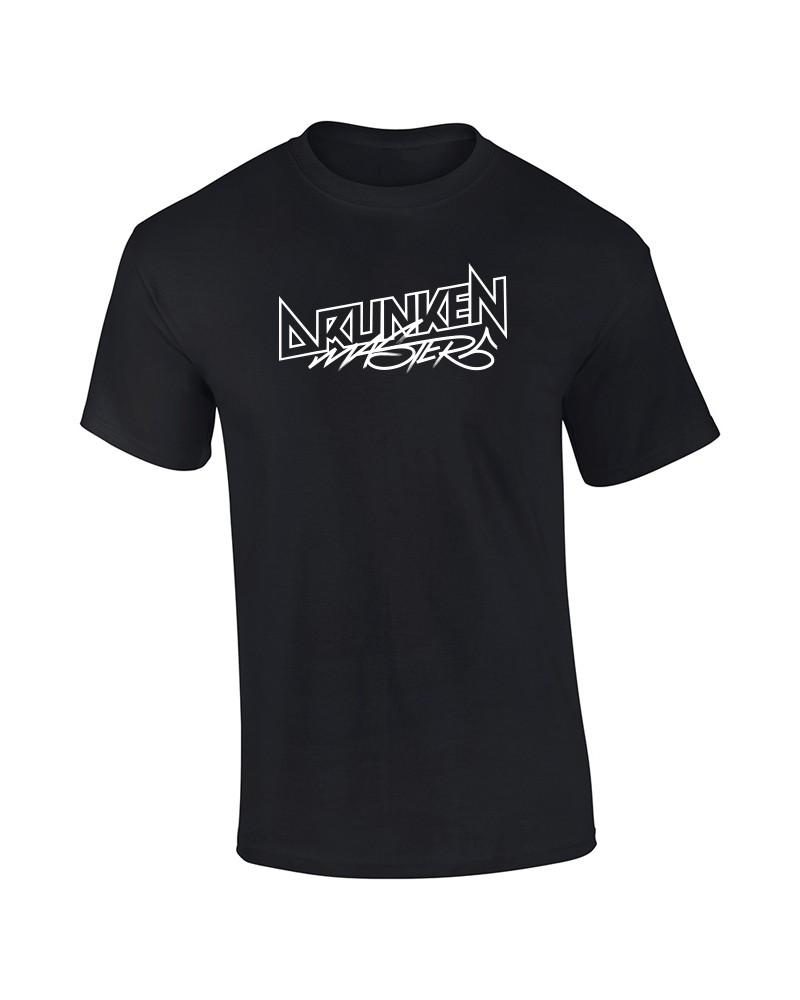 Drunken Masters Glow Logo T-Shirt, schwarz
