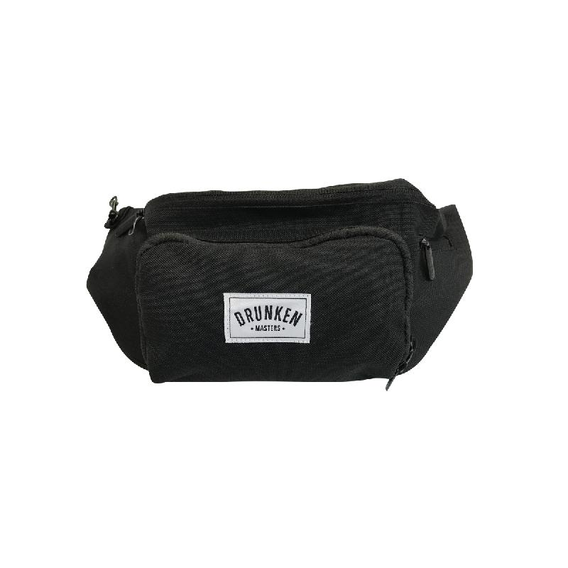 Drunken Masters Hip Bag mit Weblogo Bag, Black