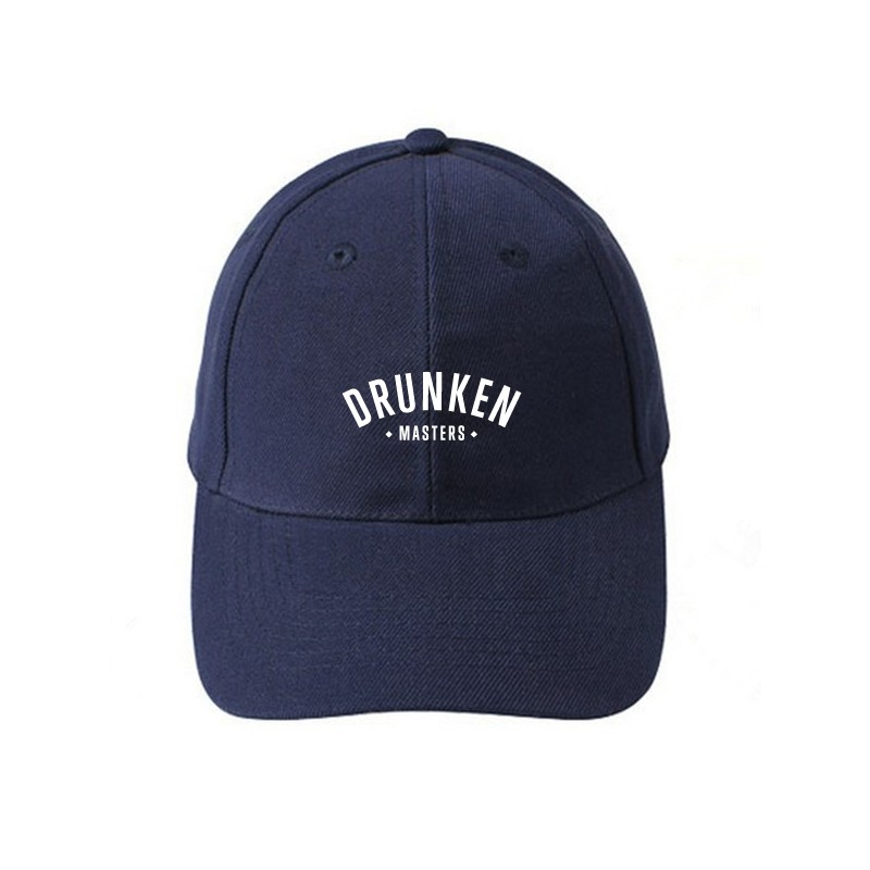 Drunken Masters Logo Low Profile Cap, navy