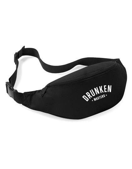 Drunken Masters HipBag Logostick Hip Bag, schwarz