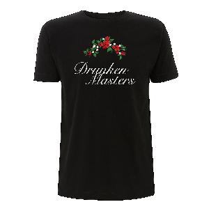 Drunken Masters Rosen T-Shirt Schwarz